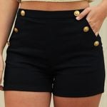 Plus Size  Casual Solid color Button sportbroek  pantalones  Shorts
