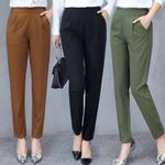 Ankle Slim Drape Casual Comfortable and Smooth Trousers Pants