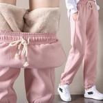 Sweatpants Workout Fleece Solid Thick Sport Pantalones Pants