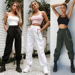 High Waist arrival Elegant Hip hop Vogue streetwear Pants