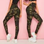 Sport Fitness Camouflage Camo Workout Gym Training Fitness Leggings