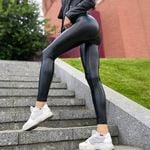 Pu Leather Sexy Party Club Pants  Slim Sexy Push Up Skinny Leggings