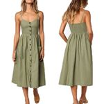 Casual Sundress Sexy Midi Vintage Vestidos Backless Straps Dresses