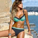 New Sexy Push up Tanga Swimsuit Swimwear Feminino Bikini