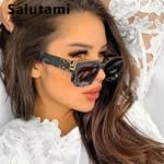 Vintage Square Oversize Elegant Eyewear Oculos Sunglasses