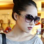 NEW Fashion Vintage Round Designer Feminine Sunglasses