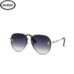 Pilot Fashion Shades Metal Frame Vintage  Designer Sunglasses