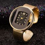 New Luxury Brand Bracelet Watch Gold Silver Dial Watches