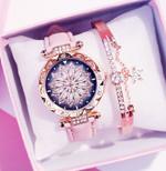 Starry Sky Bracelet Casual Leather Quartz Wristwatch Clock Watches