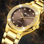 Elegant Luxury Wristwatch Waterproof Gold Expensive Watches