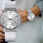 Luxury Fashion quartz wristwatches Gold Silver Watches