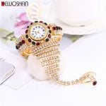 Luxury Clock Rhinestone Bracelet Wristwatch Relogio Watches