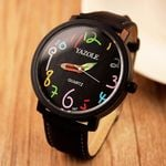 Pencil Lovely Numbers Quartz Wrist zegarek horloge Watches