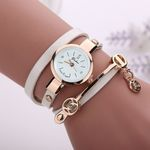 Newest Luxury Brand Metal Strap Dress Clock Leather Watches