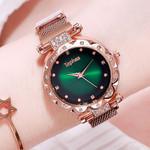 Luxury diamond Starry Sky Fashion Quartz Wristwatch Watches