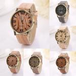 Popular high quality Creative Vintage Fashion Quartz Wood Watch