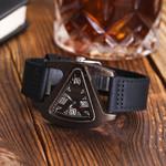 Bamboo wristwatch wrist triangle Wood Watch