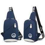 Chest Bag Waterproof Handbag Zipper Shoulder Casual Fashion Handbags