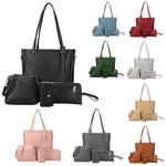 Shoulder Bags Four Pieces Tote Crossbody Wallet Handbags