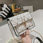 New version of the Messenger handbag chain wild crack Handbags