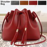 Fashion High Quality Vintage Bucket Tassel Messenger Handbags