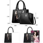 Fashion  Tote Messenger Shoulder Set Luxury composite Handbags