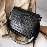 Fashion Crocodile Chains Designer High Quality PU Leather Handbags