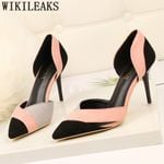 New pumps dress shoes designer office tacones luxury heels