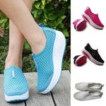 Mesh Sneakers Platform Loafers Breathable Air Mesh Swing Flat shoes