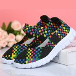 Sneakers Outdoor Running Mesh Woven Casual Flat shoes