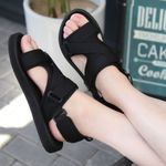 New Style Outdoor Non-slip Breathable Fashion Trend Black Sandals