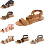 Fashion low cut non-slip beach cross belt sandals