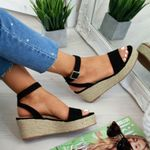 Platform Fashion Strap Fashion Wedges Casual Sandals