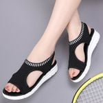Fashion Wedge Sandals Slip Comfortable Elastic Sandals