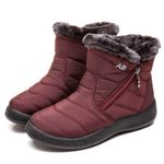 New Waterproof Snow Boots For Winter Casual Lightweight Boots