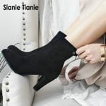 Fashion pumps ankle extra large size Boots