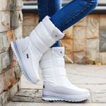 Platform Rubber anti-slip Waterproof Warm Boots