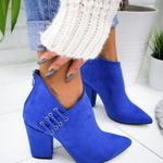 Ankle Sexy High-heel Fashion Pointed Boots