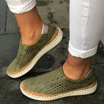 Breathable Vulcanized Casual Fashion Hollow Out Sneakers & Shoes