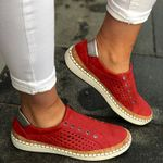 Fashion Vulcanized Casual Hollow Out Flats Torridity Sneakers & Shoes