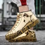 Fashion High Top Platform Graffiti Casual Sneakers & Shoes