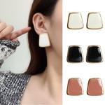 Enamel Stud Fashion Jewlery Simple Oorbellen Aretes Earrings