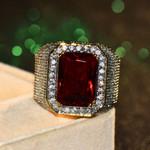 Gorgeous Engagement Jewelry Zircon Stone Vintage Rings
