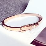 Fashion Expandable Wire Open Bangle Manchette Bracelets & Bangles