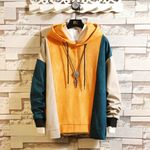 Striped Print High Quality Casual Sweatshirts Hoodies