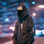 High neck Fish mouth Pullover Streetwear Hip Hop Sweatshirts