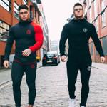 Skinny Gyms Fitness Bodybuilding Joggers Sportswear Casual Sweatshirts