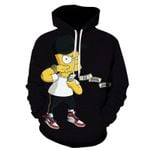 Style Simpson Friends Printed Pattern Long Sleeve Sweatshirts
