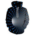 Pop Punk Hip hop Dizzy Arts 3D Pullovers Outerwear Sweatshirts