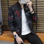 Quality Bomber Solid Casual Outerwear Mandarin Sportswear Jackets